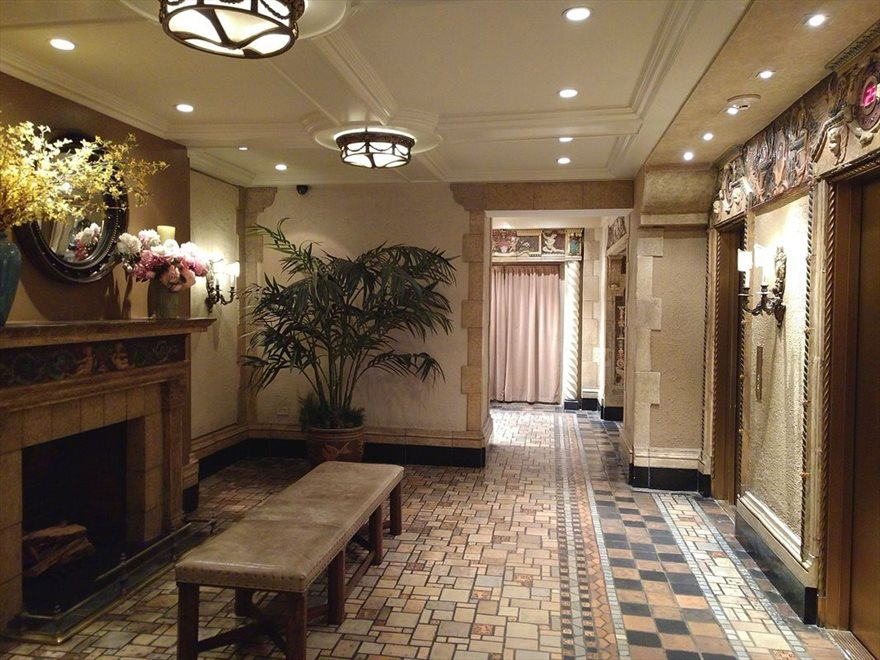 The Oliver Cromwell Apartment Building | View 12 West 72nd Street | Elegant Lobby