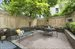 932 President Street, 1A, Private garden with raised beds & bricked patio