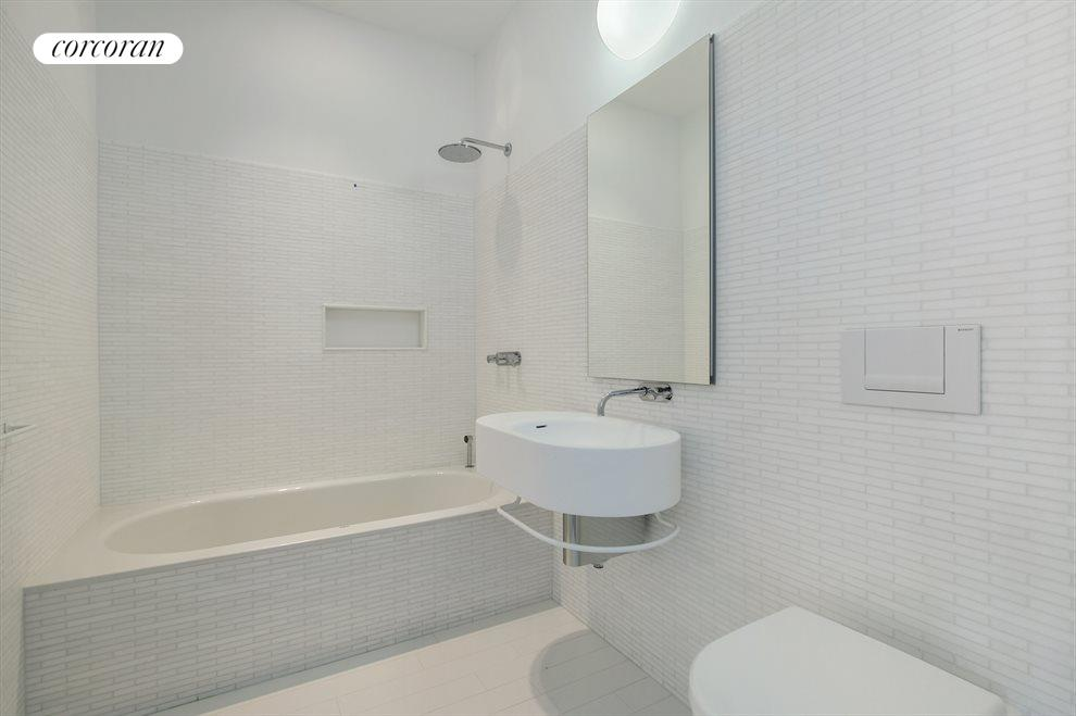New York City Real Estate | View 56 LEONARD ST, #28B EAST | Renovated Bath