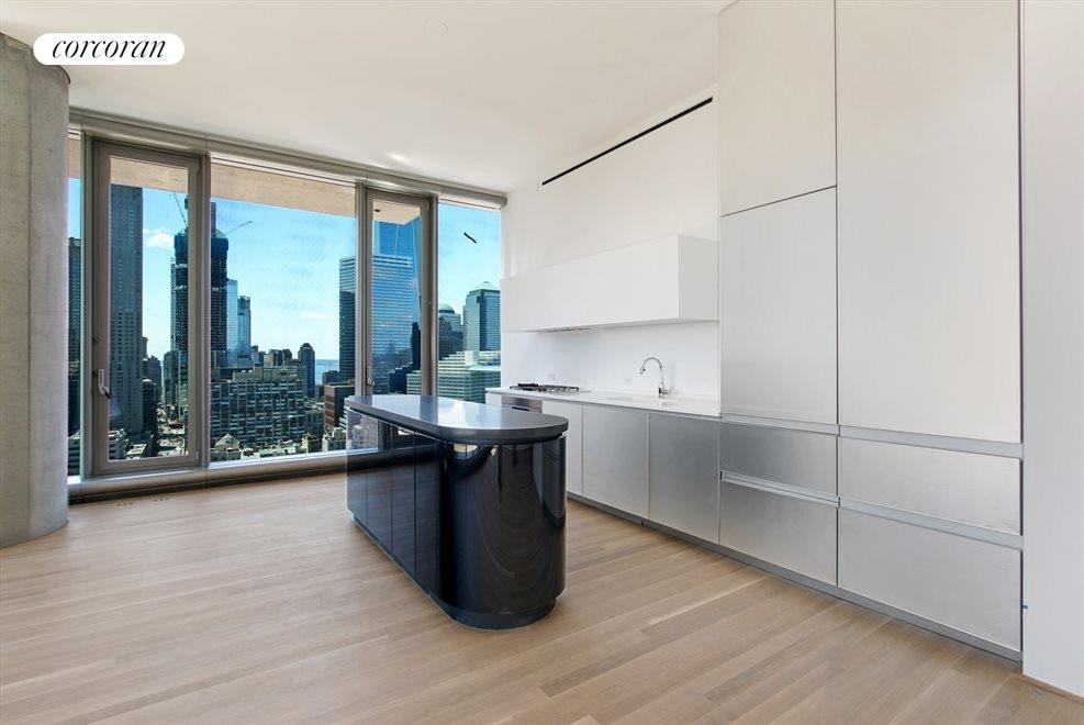 New York City Real Estate | View 56 LEONARD ST, #28B EAST | Stunning Kitchen with Breakfast Bar