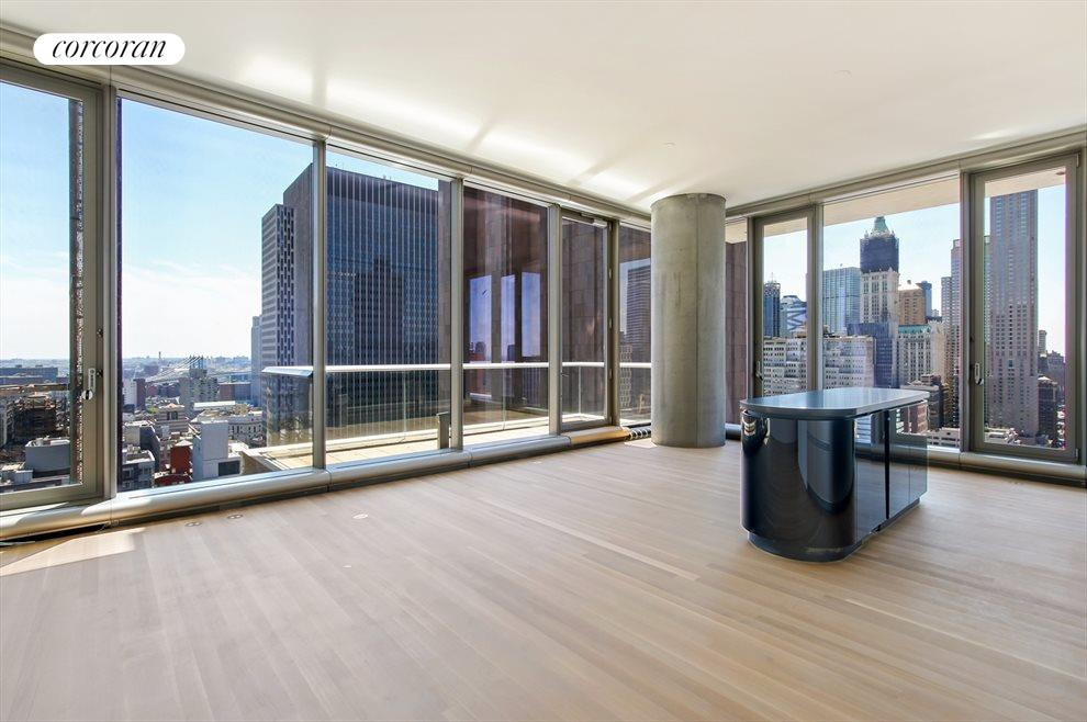New York City Real Estate | View 56 LEONARD ST, #28B EAST | Large Balcony off Living Room