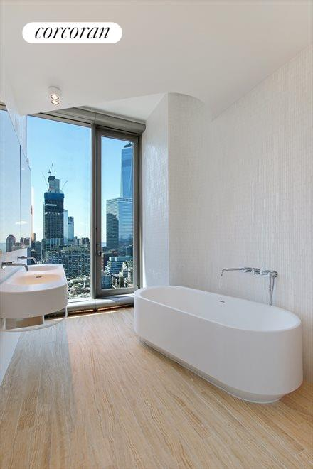 New York City Real Estate | View 56 LEONARD ST, #28B EAST | Large 5 Fixture Master Bathroom