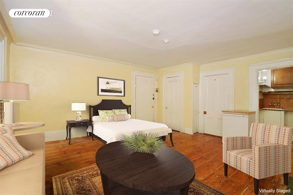274 West 11th Street, 1F, Virtually Staged