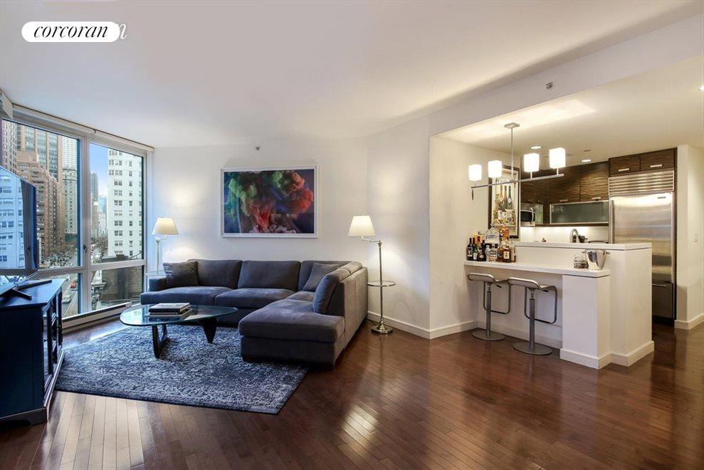 Living Room w/ Empire State Building views
