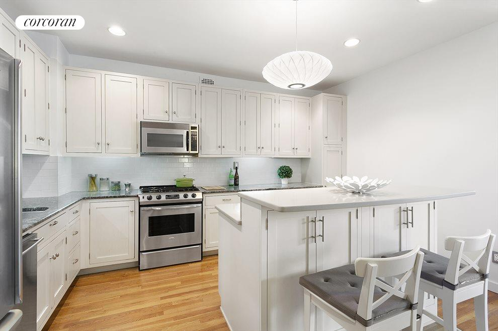 Open renovated kitchen