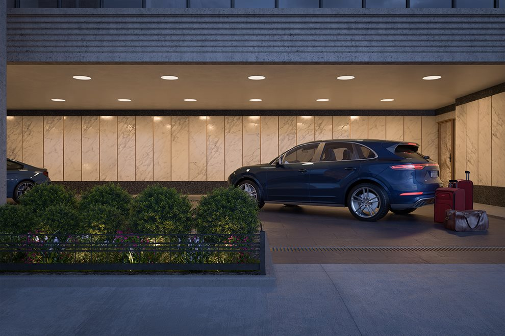 40 East End | 40 East End Avenue | Private Porte Cochere