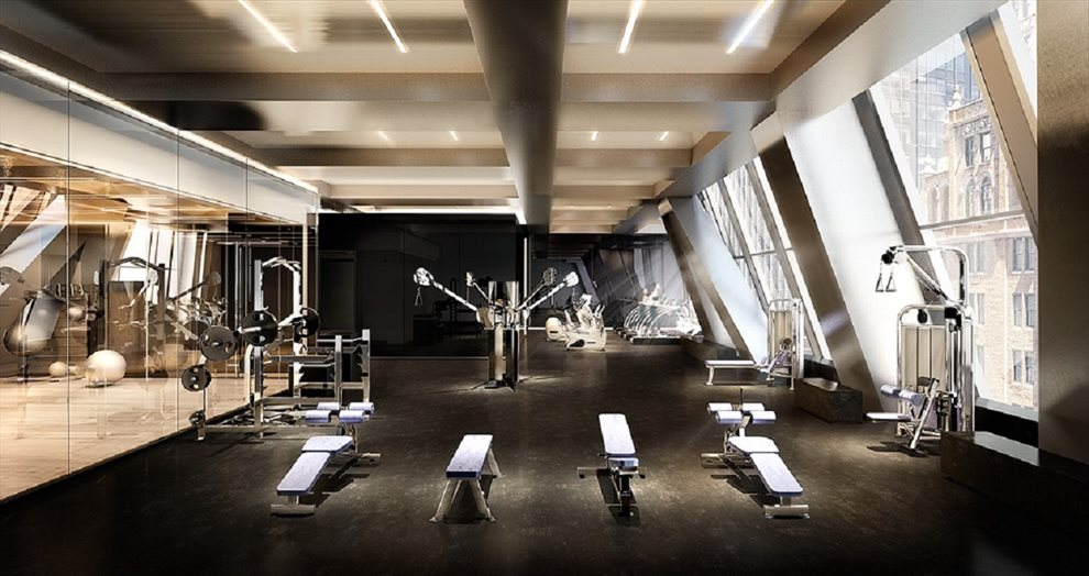 New York City Real Estate | View 53 West 53rd Street, #30B | Wellness Center managed by The Wright Fit