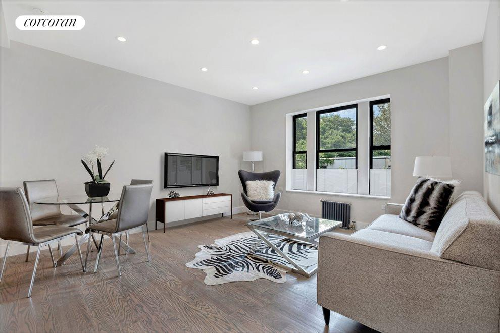 New York City Real Estate | View 601 Crown Street, #A6 | 2 Beds, 1 Bath