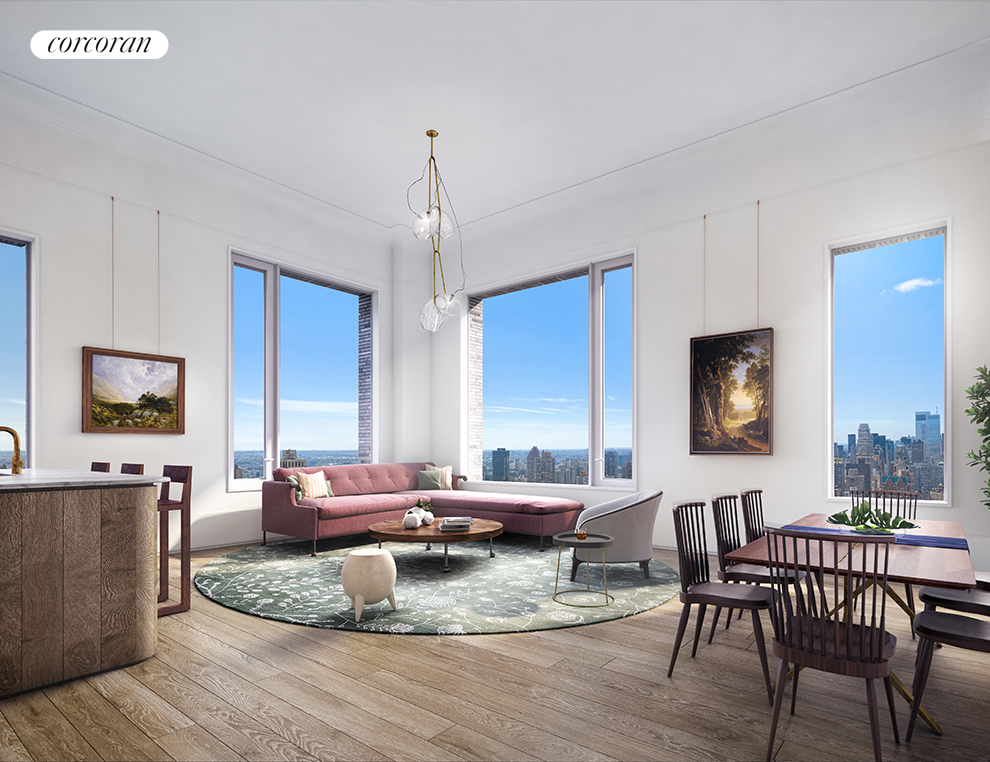 180 East 88th Street, 9A, Living Room