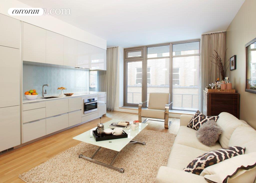 124 West 23rd Street, 5C, as staged...