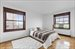 325 Clinton Avenue, 10F, Master bedroom with double exposures