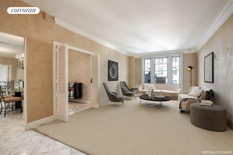 Living Room-virtually staged