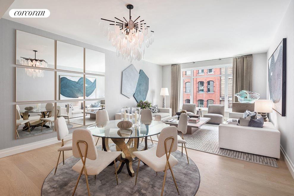 New York City Real Estate | View 70 VESTRY ST, #3F | 3 Beds, 3.5 Baths