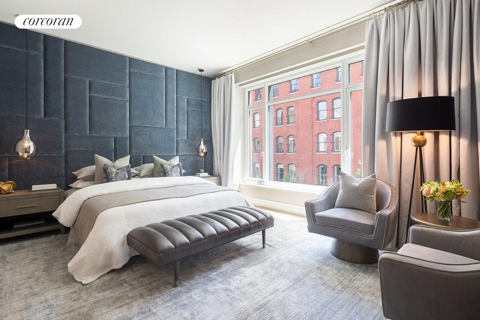 New York City Real Estate | View 70 VESTRY ST, #3F | Oversized master suite
