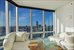 10 West Street, 37G, Living Room with Hudson River Views