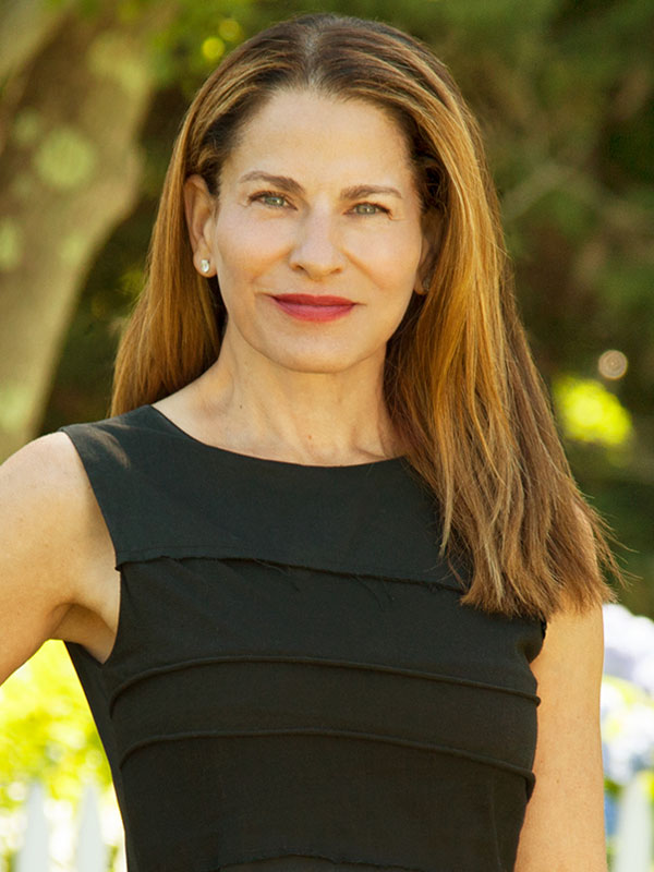 Randi Ball, a top realtor in The Hamptons for Corcoran, a real estate firm in East Hampton.