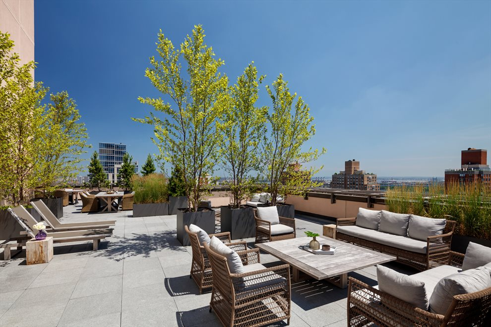 New York City Real Estate | View 389 East 89th Street, #28A | Landscaped Roof Deck