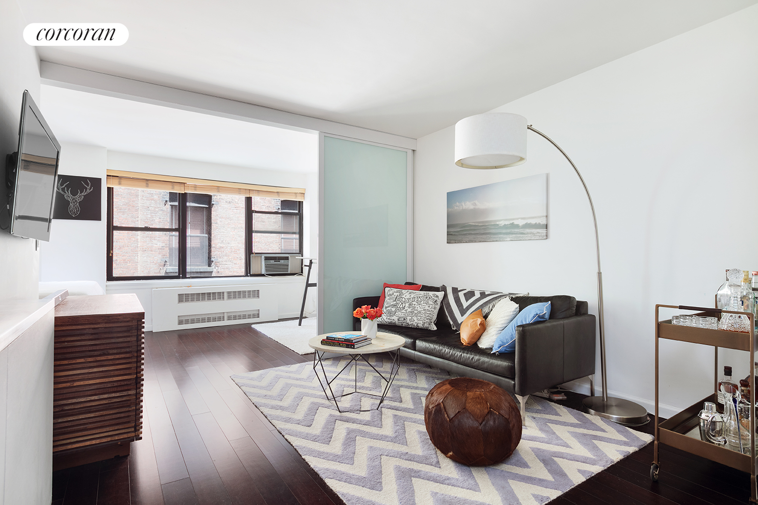 49 West 12th Street, 3H, Living Room