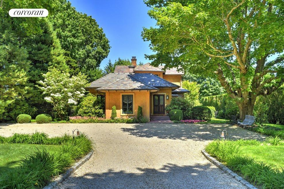 Gracious entry on .65 acres