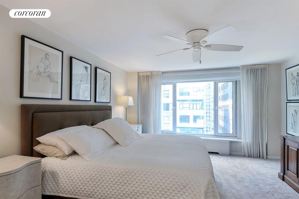 New York City Real Estate | View 440 East 57th Street, #15D | Bedroom