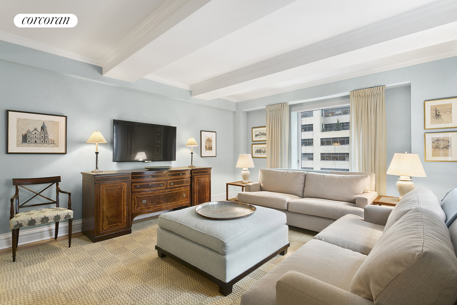502 Park Avenue, 11CD, Living Room