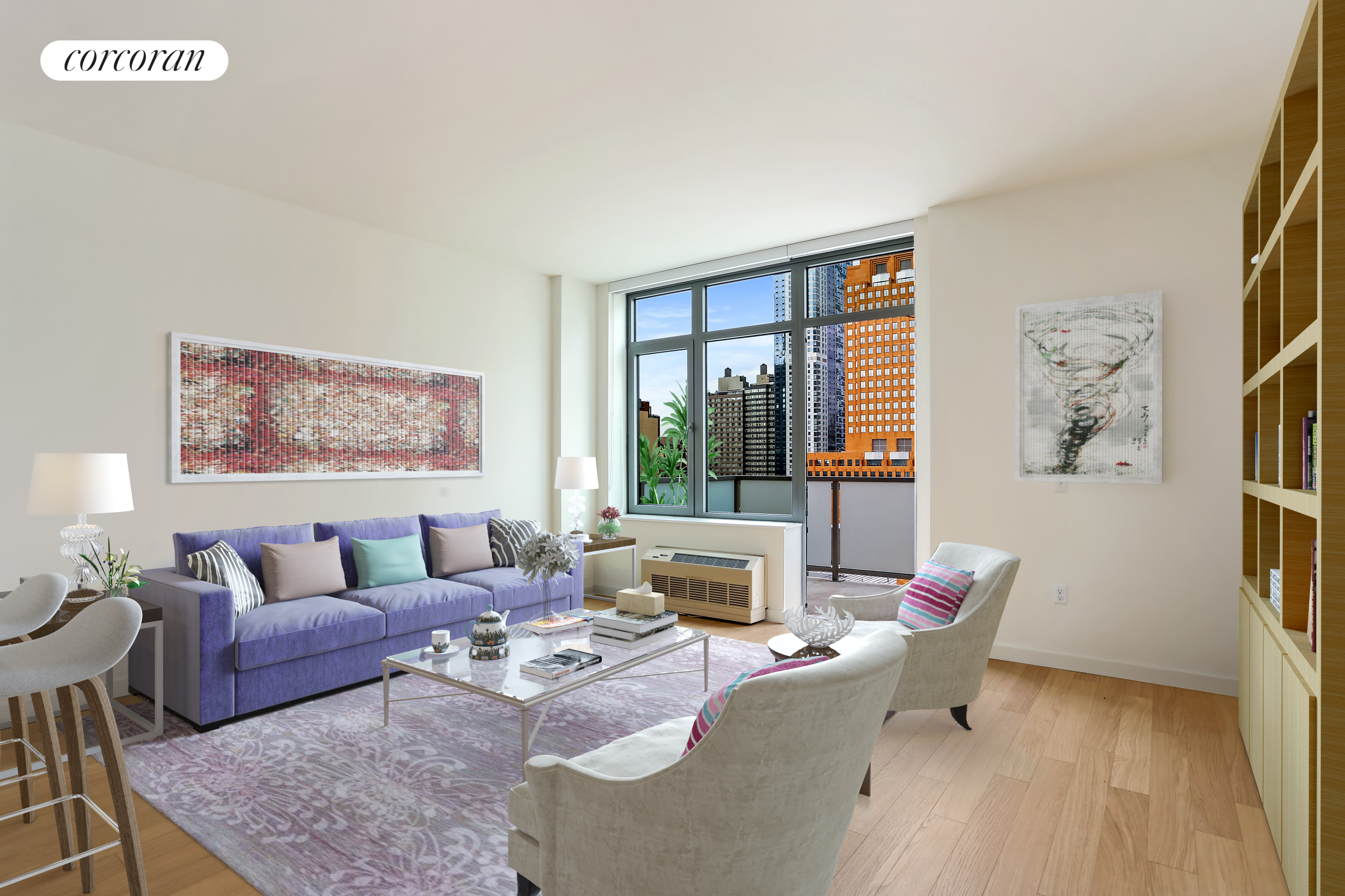 180 Myrtle Avenue, 11T, Living Room