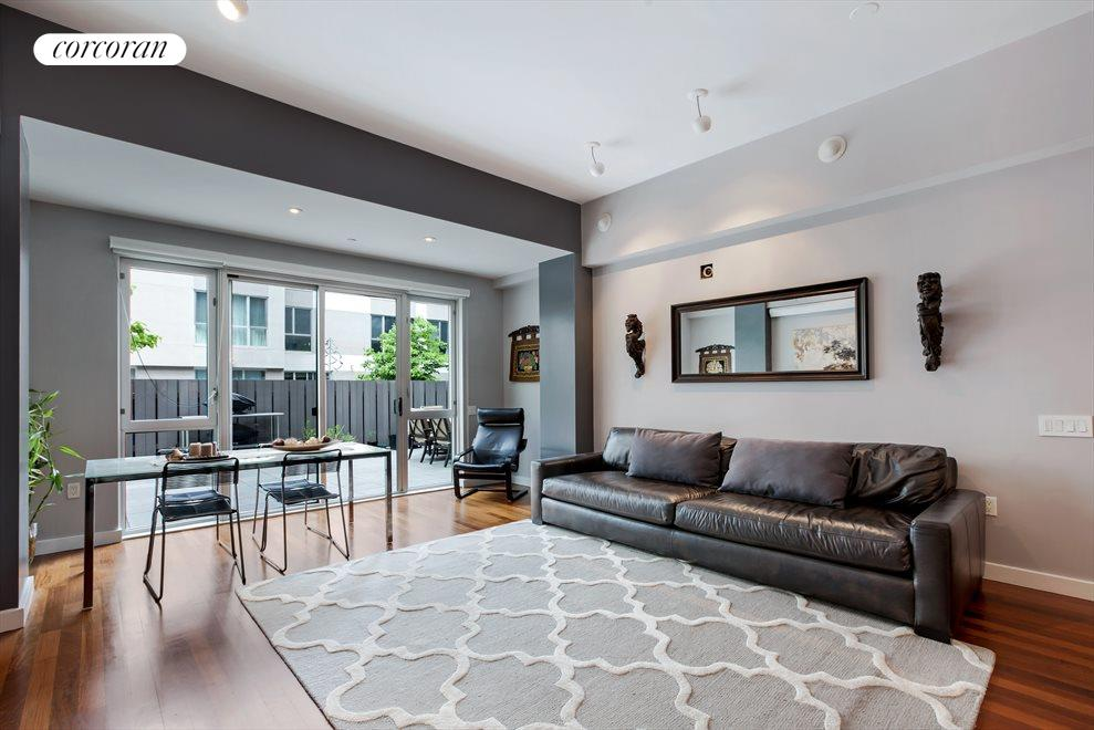 floor-to-ceiling windows maximize light