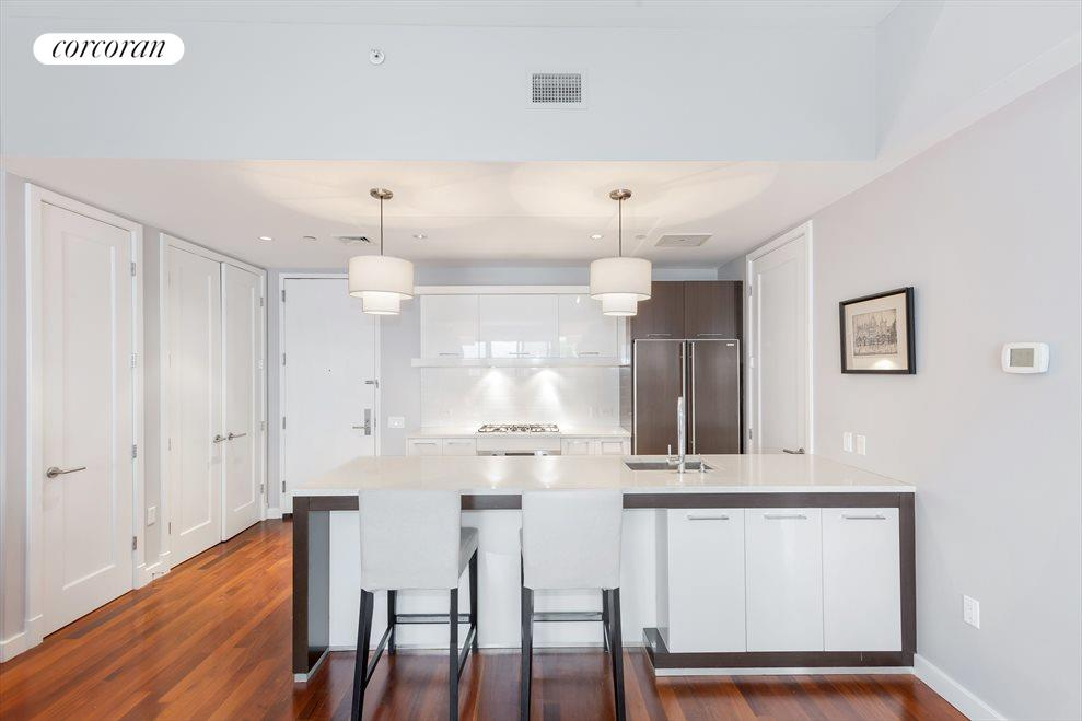 Large chef's kitchen with ample storage
