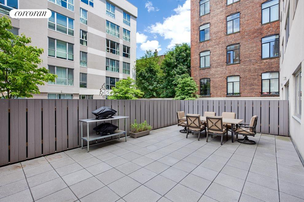 almost 700 sf of outdoor space