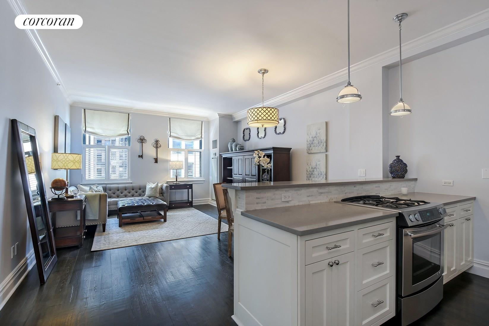 225 Fifth Avenue, 8G, Living Room