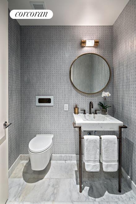 Elegant Powder Room