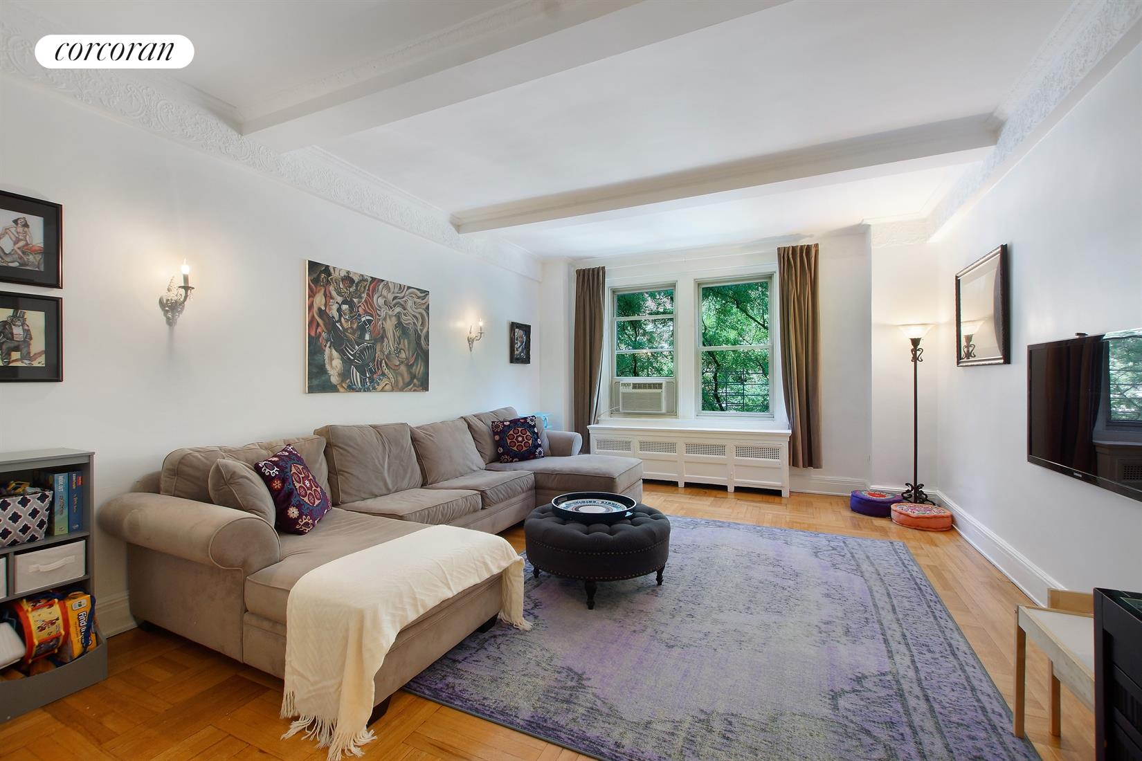 290 West End Avenue, 3B, Living Room