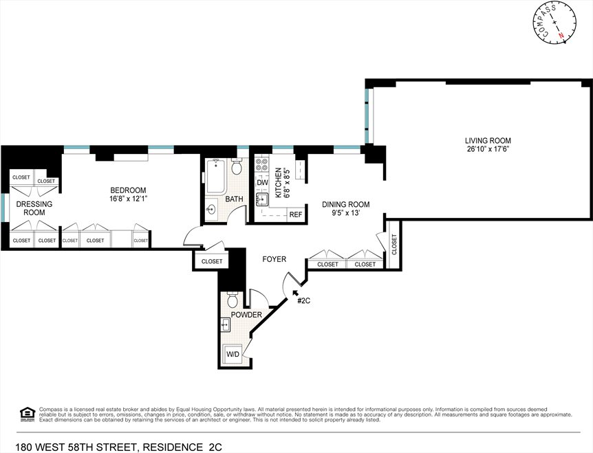 New York City Real Estate | View West 58th Street | Floorplan