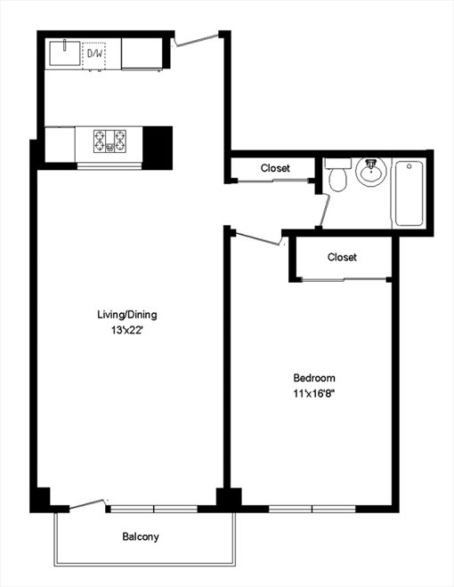 New York City Real Estate | View East 87th Street | Floorplan