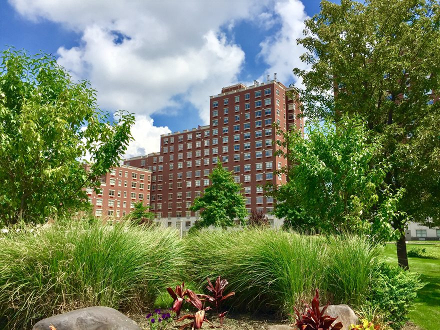The Opal Apartment Building | View 75-25 153rd Street | Courtyard