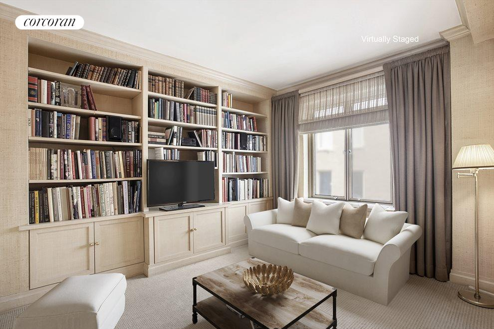 Library or second bedroom