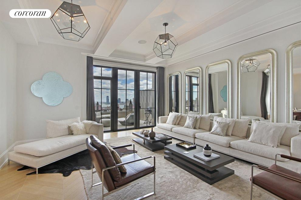 New York City Real Estate | View 212 West 18th Street, #PH5 | Living Room