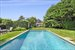 Southampton, Village property with full sun pool and a poolhouse with bath