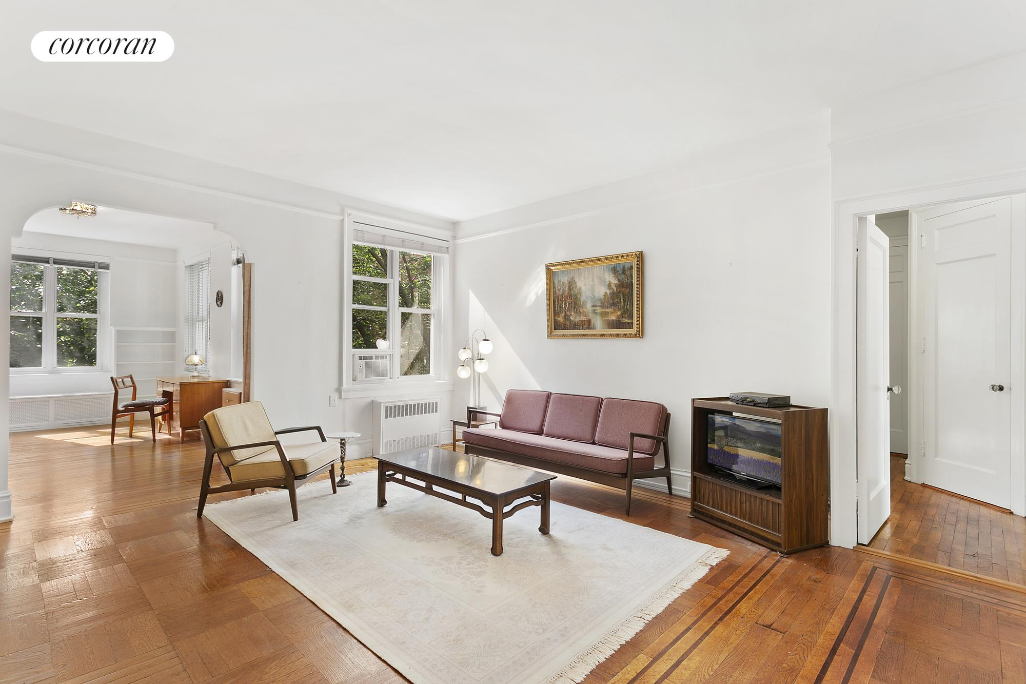 34-28 80th Street, 41, Living Room and Sunroom