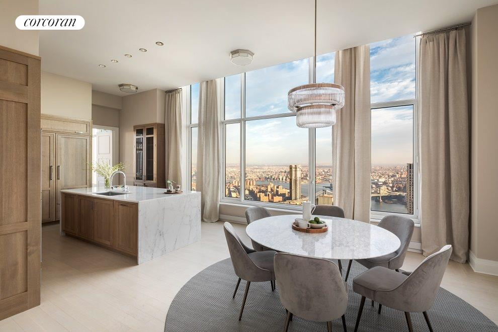 New York City Real Estate | View 30 PARK PLACE, #PH82 | Kitchen