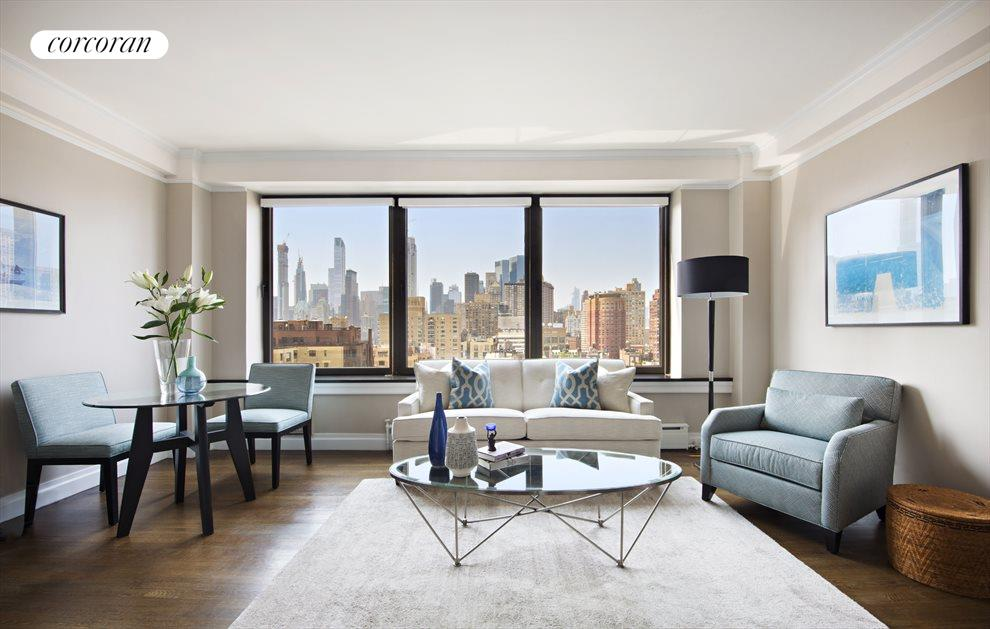 New York City Real Estate | View 12 West 72nd Street, #21E | 2 Beds, 2 Baths