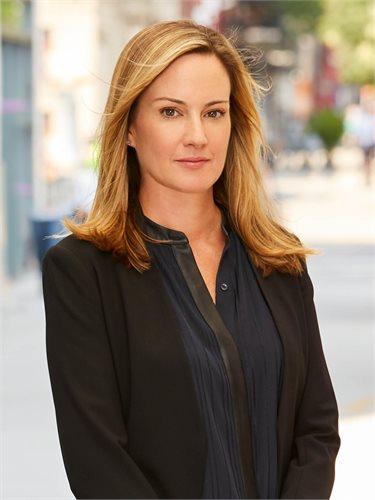 Meghan Kelly Gefaell, a top realtor in New York City for Corcoran, a real estate firm in East Side.