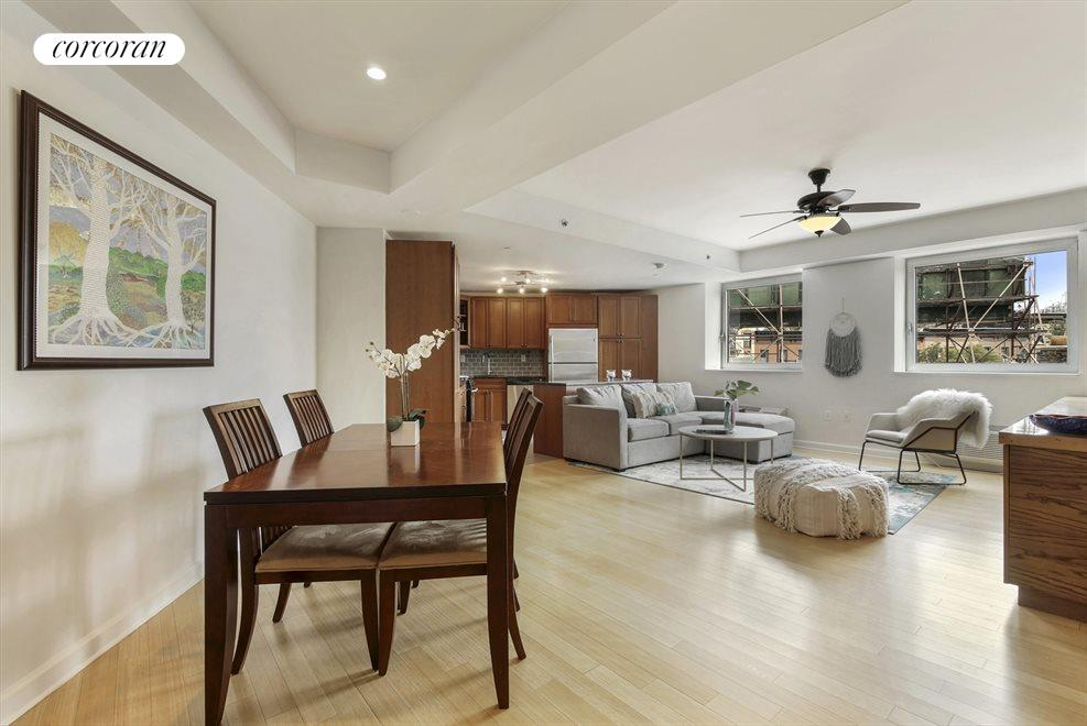 New York City Real Estate | View 145 Park Place, #4A | Dining Area