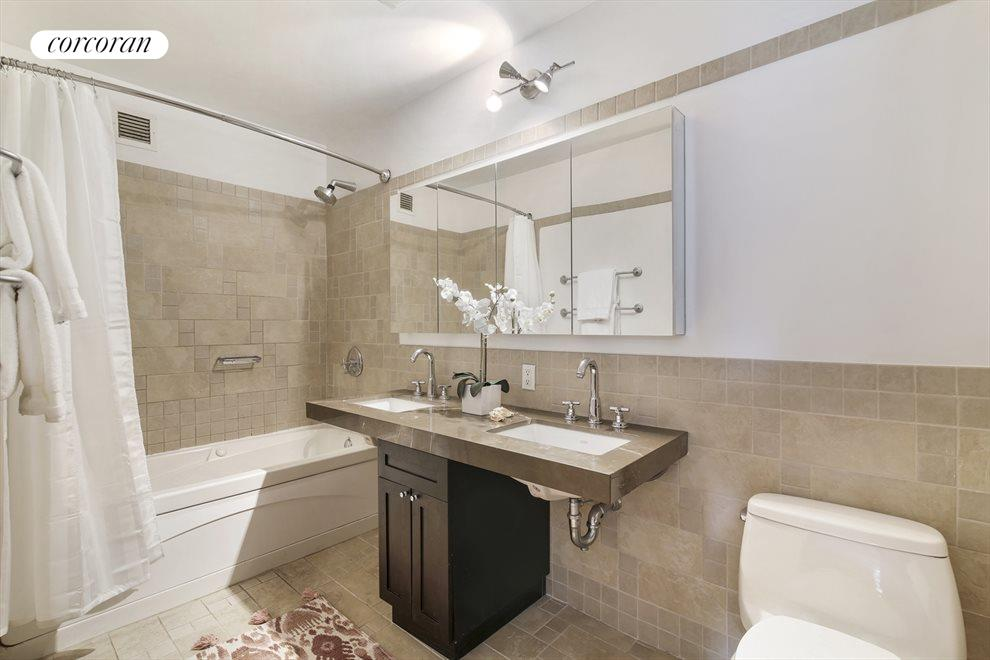 New York City Real Estate | View 145 Park Place, #4A | Master Bathroom