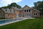 Fine Quality New Construction Sag Harbor, Sag Harbor