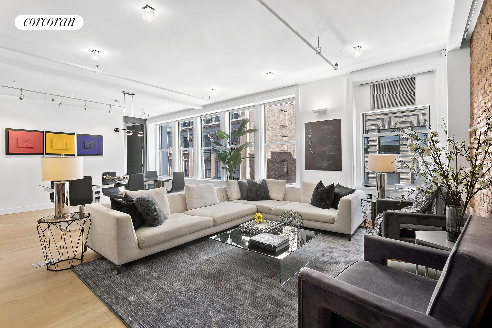 40 East 19th Street, 7 FL, Living Room