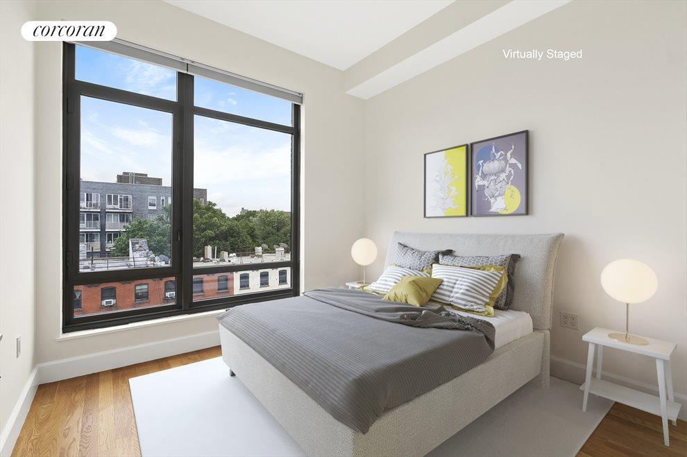 Split two bedroom layout