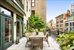 136 West 22nd Street, PH1, Landscaped Front Terrace with Automatic Awning