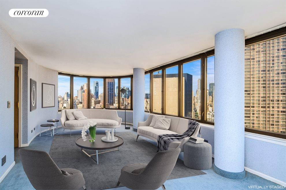 New York City Real Estate | View 330 East 38th Street, #36E | 2 Beds, 2 Baths