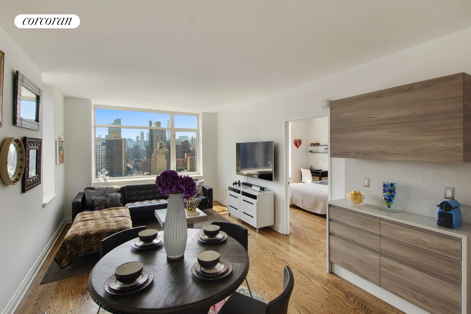 1760 Second Avenue, 23B, Living Room / Dining Room